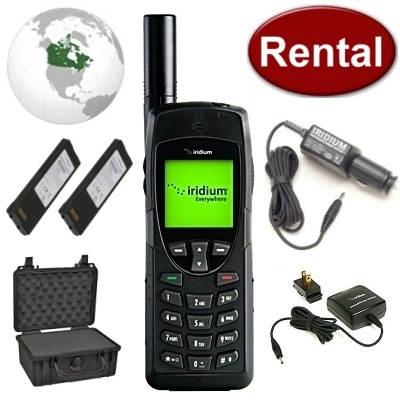 Iridium 9555 Satellite Phone Rental WINTER SALE, $149/ MONTH