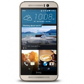 HTC One M9, Gold on Silver 32GB