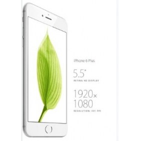 Apple Iphone 6 Plus 16GB Silver Factory Unlocked