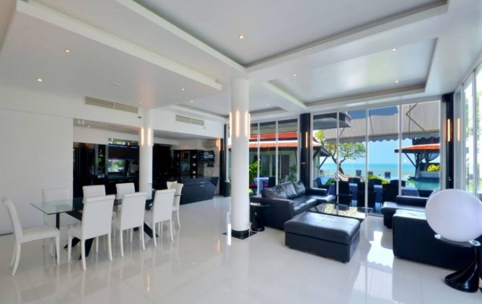 Pattaya Jomtien 5 Star Beachfront Villa Sale