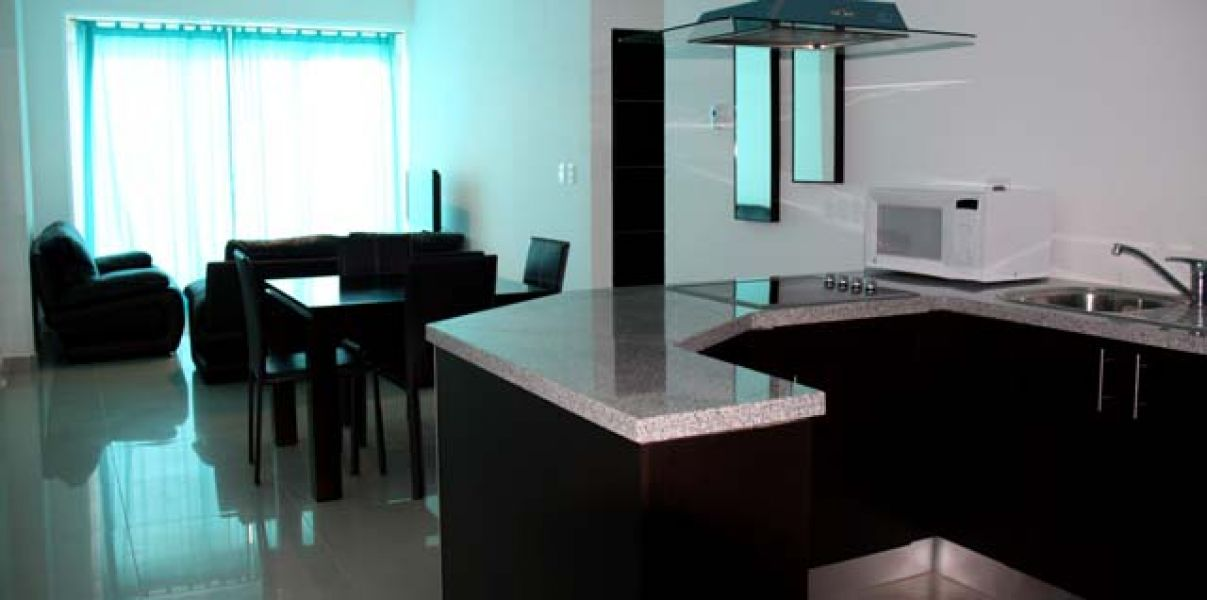 Cancun new 2/3 B.R. furnished apartment / Day, Wk. Month