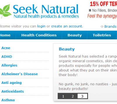Seek Natural Health Products kaazimrazaa