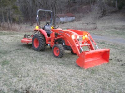 Used Tires Barrie >> 2011 Kubota L3800 HST w/ Trailer, Loader, Rotary Cutter 4WD