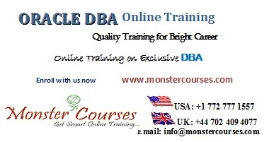 Oracle dba online training online by experts with placements