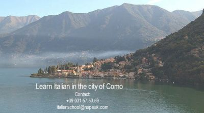 LEARN ITALIAN IN THE CITY OF COMO (ITALY)