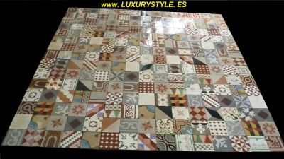 LUXURYSTYLE .ES offer OLD FLOOR TILES for DESIGN SHOP, DESIGN RESTAURANT, DESIGN BAR, DESIGN KITCHEN