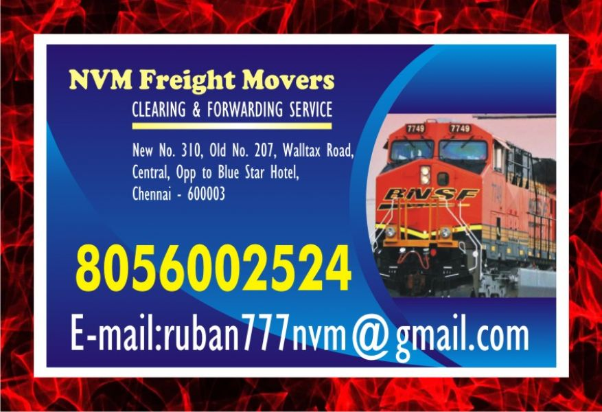 NVM freight Movers | door step service | Rs. 7/- per KG