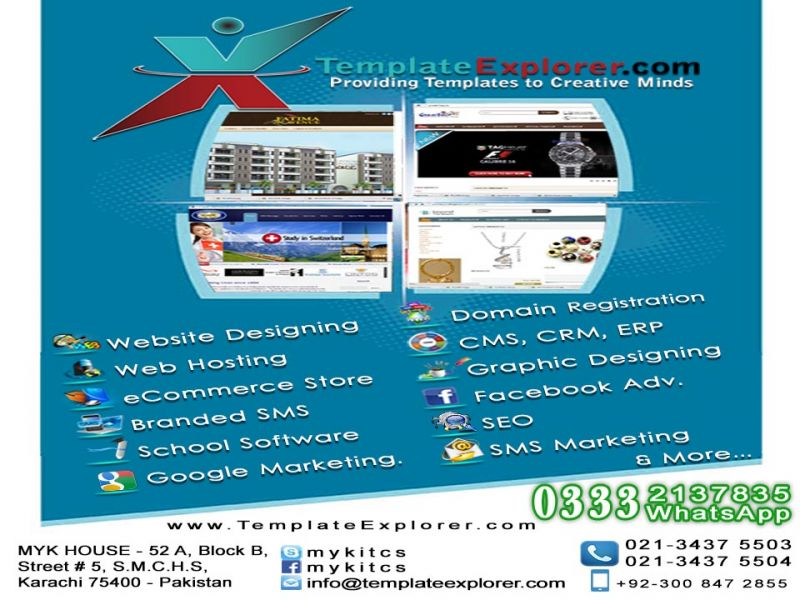 Specialized e-Commerce Website Designing And All IT Services