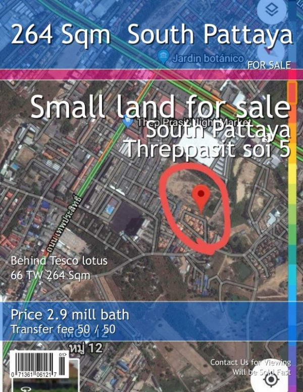 Pattaya Land Plots Expert Offers
