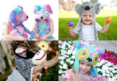 Handmade Crochet Animal Hats for all ages