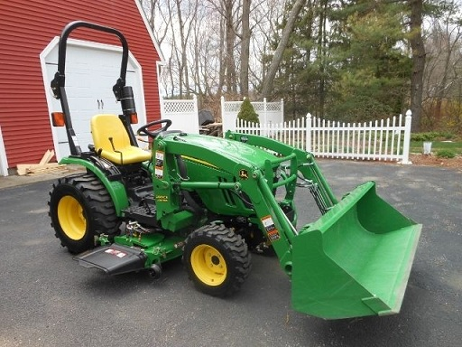 Jd 2320 Mower Adj : John deere loader mower hp