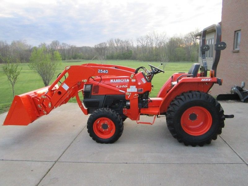 Used Tires Barrie >> 2008 Kubota L3400 4x4 Tractor Loader 247 hrs