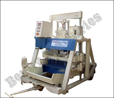 Fly Ash Brick Making Machine Manufacturer, Concrete Hollow Block Making Machine