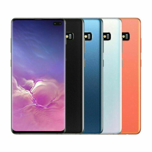 NEW Samsung Galaxy S10+ Plus SM-G975U 128GB GSM UNLOCKED Smart Phone -All Colors