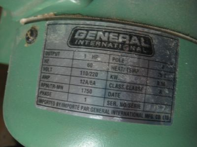 14 Band Saw GENERAL INTERNATIONAL 90-125M1