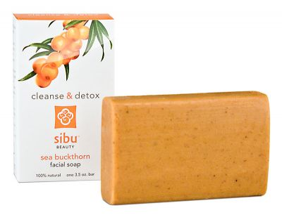 Get a glowing skin through Sibu Beauty - sea buckthorn facial soap
