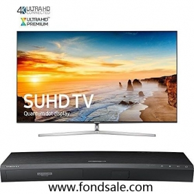 Samsung UN65KS9000 65' Smart LED 4K TV / UBD-K8500 4K Blu-ray Player BUNDLE