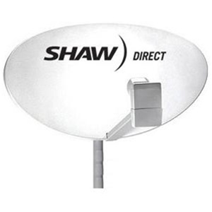Star Choice / Shaw Direct 75E Satellite Dish w/ Quad Output LNB