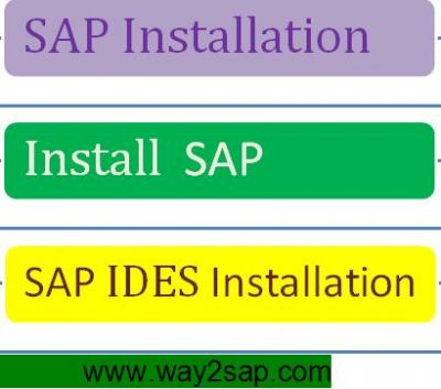 SAP INSTALLATION | SAP IDES INSTALLATION | INSTALL SAP