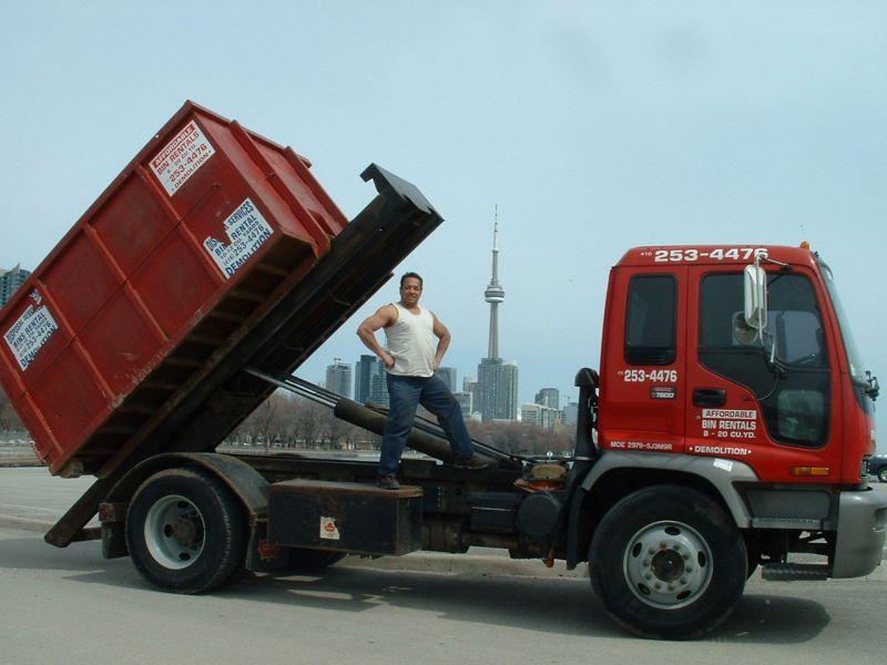 Garbage Bin Rental Mississauga 905 822 5153