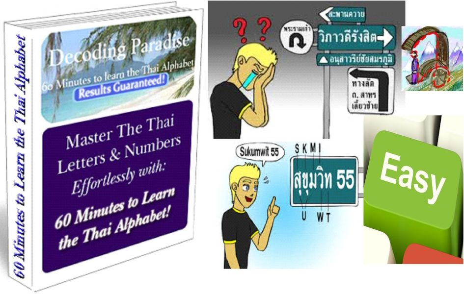 Learn Reading Thai Language Alphabet and Numbers
