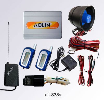 2 Way Car Pager Alarm System - Remote Starter