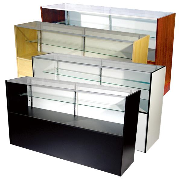 Glass Showcase Display Cabinets-Cash Wrap Customer Counter
