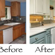 Paint your kitchen cabinets and make them look new!