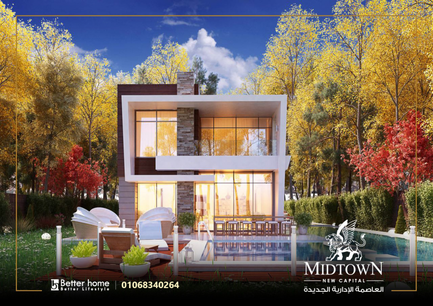Villa for Sale in Midtown New Capital City Egypt