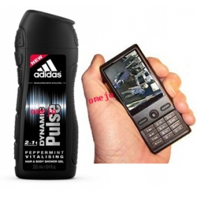 Adidas Men Shower Gle Camera Bathroom Spy Camera Wireless Spy Cell Phone DVR