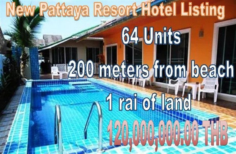 Pattaya Jomtien 64 Unit Resort Residence Hotel