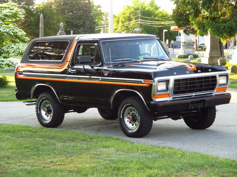 1979 Ford Bronco RANGER XLT 351 Automatic