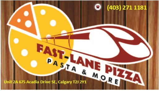 Job Opportunity with Fast-Lane Pizza Full -Time /Part-time