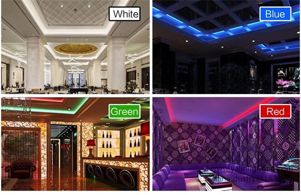 Holiday LED flexible strip light, 5050 60 SMD RGB rope lighting