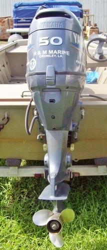 yamaha hp  stroke outboard boat engine  yamaha  xca  hp  woods