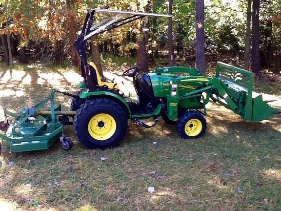 Jd Tractor Forks : Oo john deere o wd loader forks mower