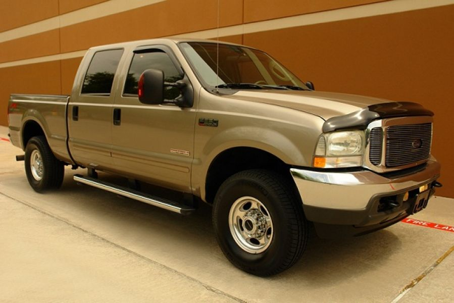 2004 Ford F-250 LARIAT FX4 DIESEL 4WD GOOD CONDITION!!!