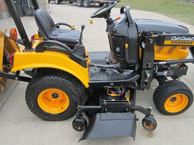 4x4 Cub Cadet Garden Tractors : Cub cadet yanmar sc loader mower tiller