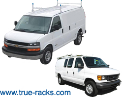 Van Ladder Racks, Van Shelving, Van Partitions