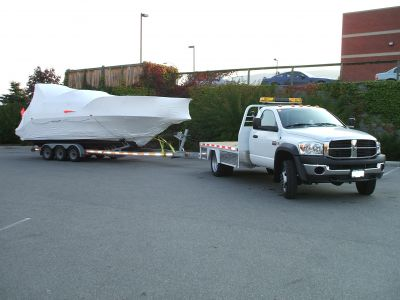 Boat Hauling Canada, Sailboat Hauling Canada, Professional, Insured, 24/7/365