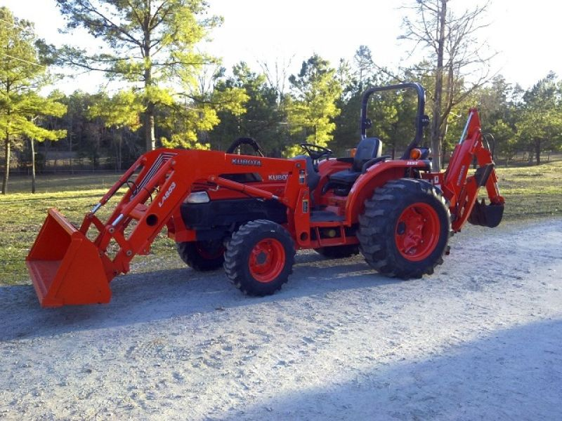 2006 Kubota L5030 4x4 Loader Backhoe
