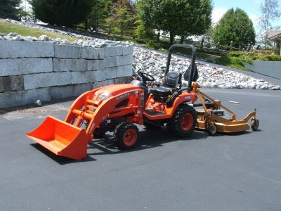 2011 Kubota BX2360 4X4 Loader Mower