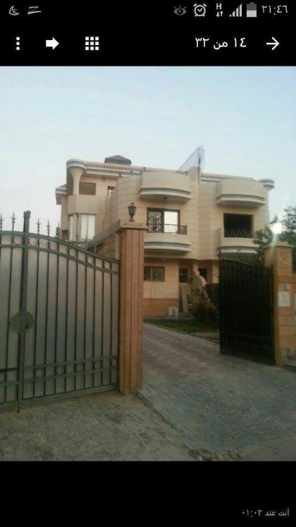 Egypt Villa for sale in New Cairo Compound 2 in front of the Golden Heights Rehab