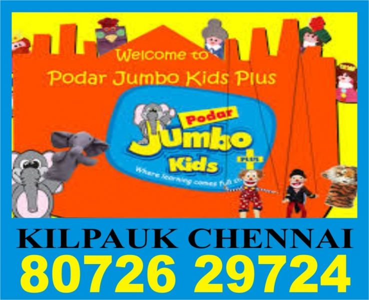 Podar Jumbo Kids Plus | 8072629724 | 873 | Online Preschool and Training | Play group