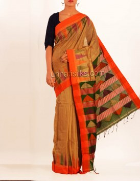 Online shopping for pashmina handloom cotton silk sarees by unnatisilks