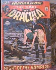 Tomb Of Dracula Comic for sale