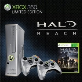 Xbox 360 250GB Halo: Reach Limited Edition Console (Xbox 360)