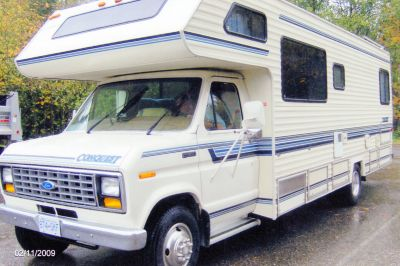 1991 Ford Conquest Motorhome