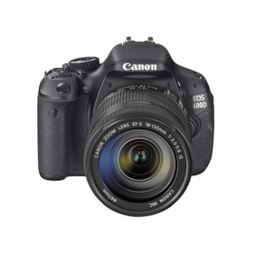 Canon EOS 600D SLR camera kit with 18-135mm STM/IS lens