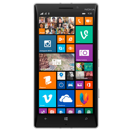 Nokia Lumia 930 Orange (Silver-67124)